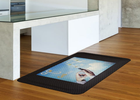 Hog Heaven Impression Logo Floor Mat