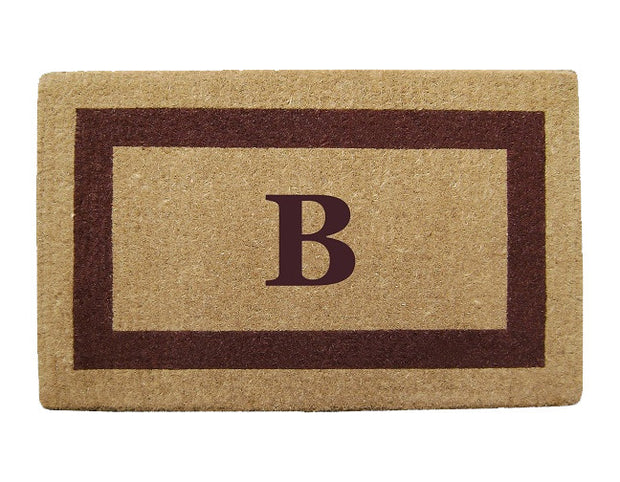 Single Border - Personalized Coco Coir Doormats