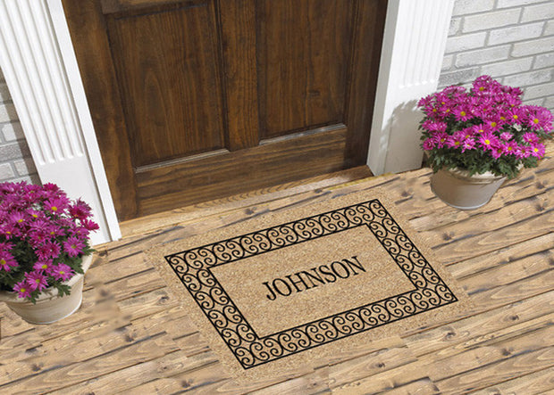 Charleston Border - Personalized Doormat