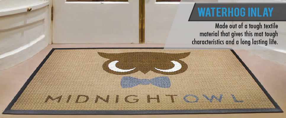 Waterhog  Inlay Logo Floor Mats