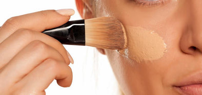 How to apply liquid foundation