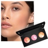 Thin Lizzy Beauty - Model using Sweet Trio Blush Trio