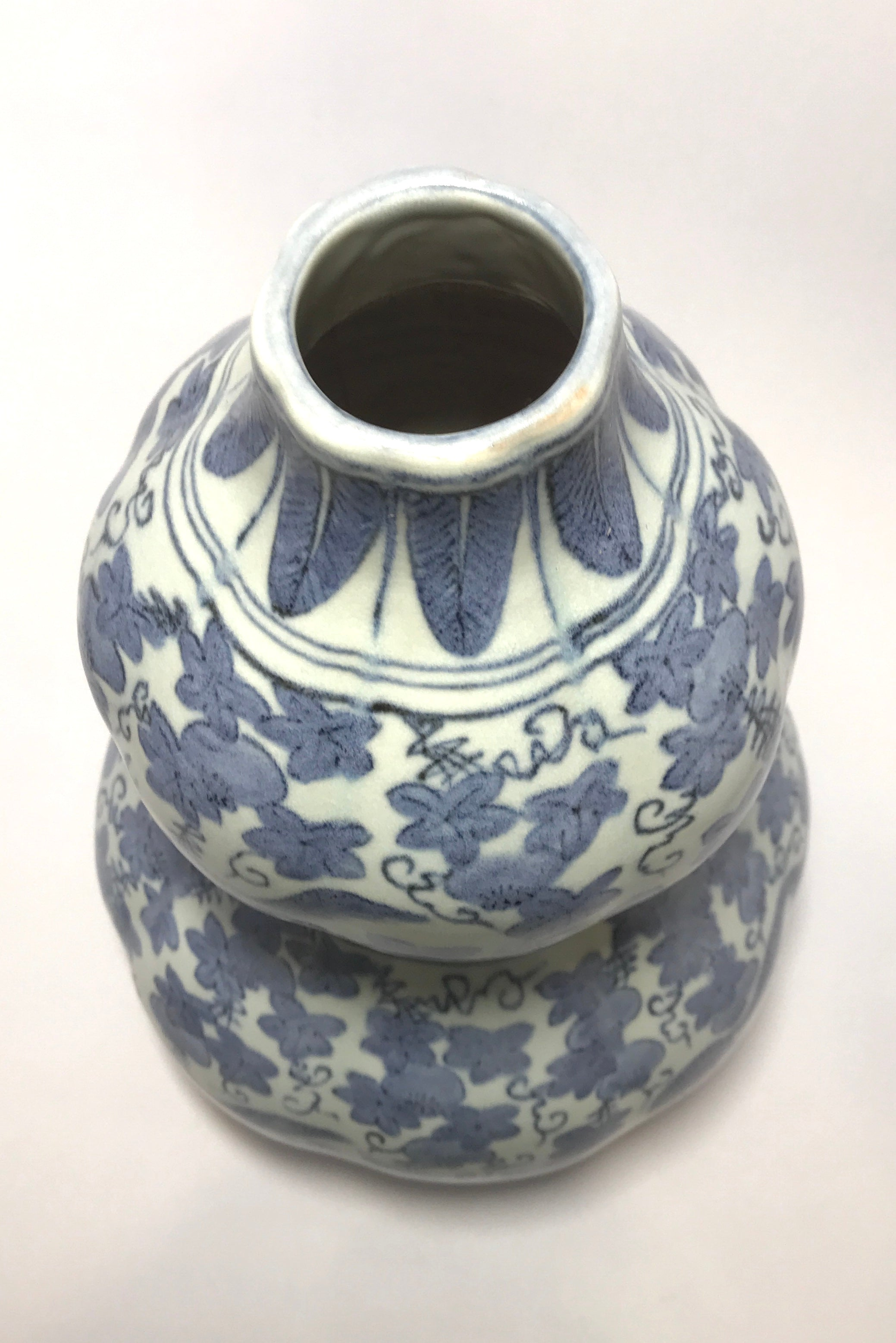 Ming Dynasty Double Gourd Vase with Wanli Mark - 10 Dynasties