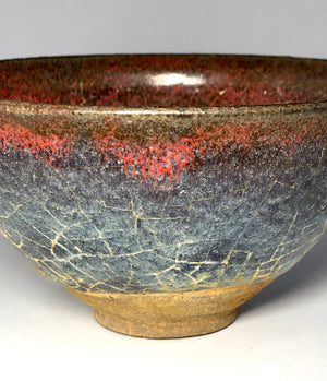 Song Purple Splash Tea Bowl