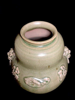 Song Dynasty Celadon Jar - 10 Dynasties