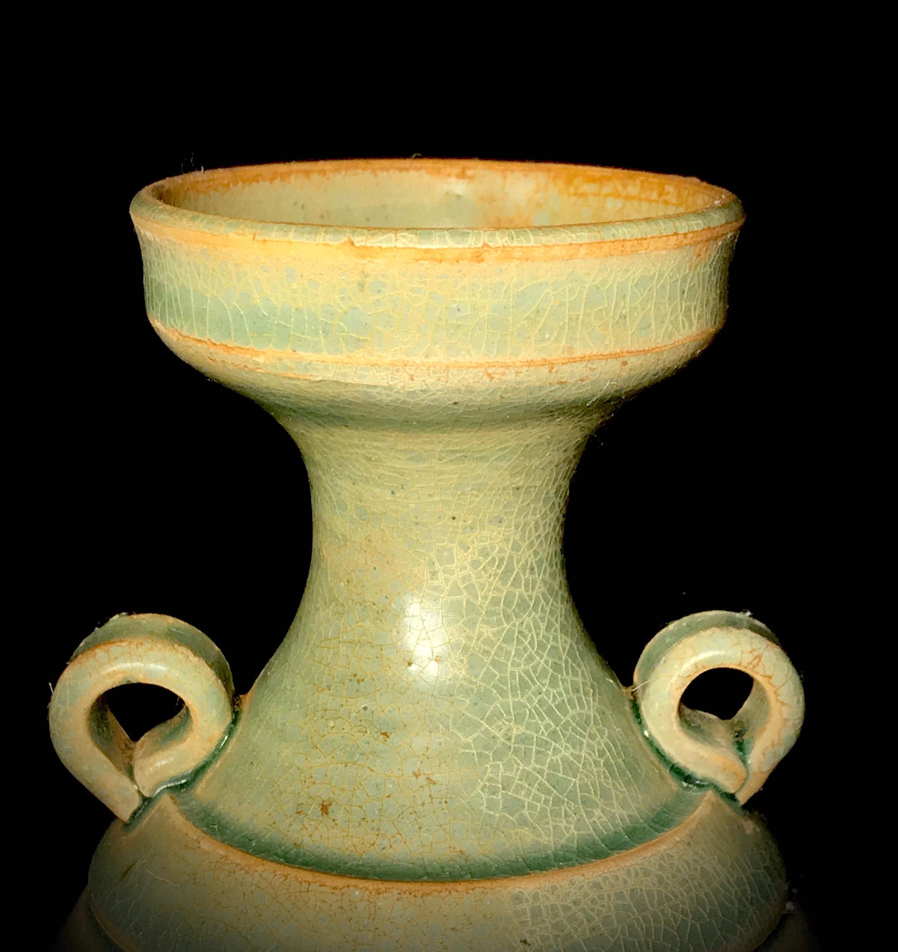 Song Dynasty Celadon Vase - 10 Dynasties