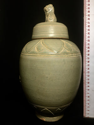 song dynasty lidded urn