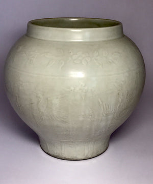 shufu glazed jar