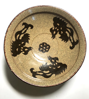 Song Jizhou Yao Dynasty Paper Cut Tea Bowl