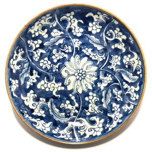 kangxi dish with lotus flowers