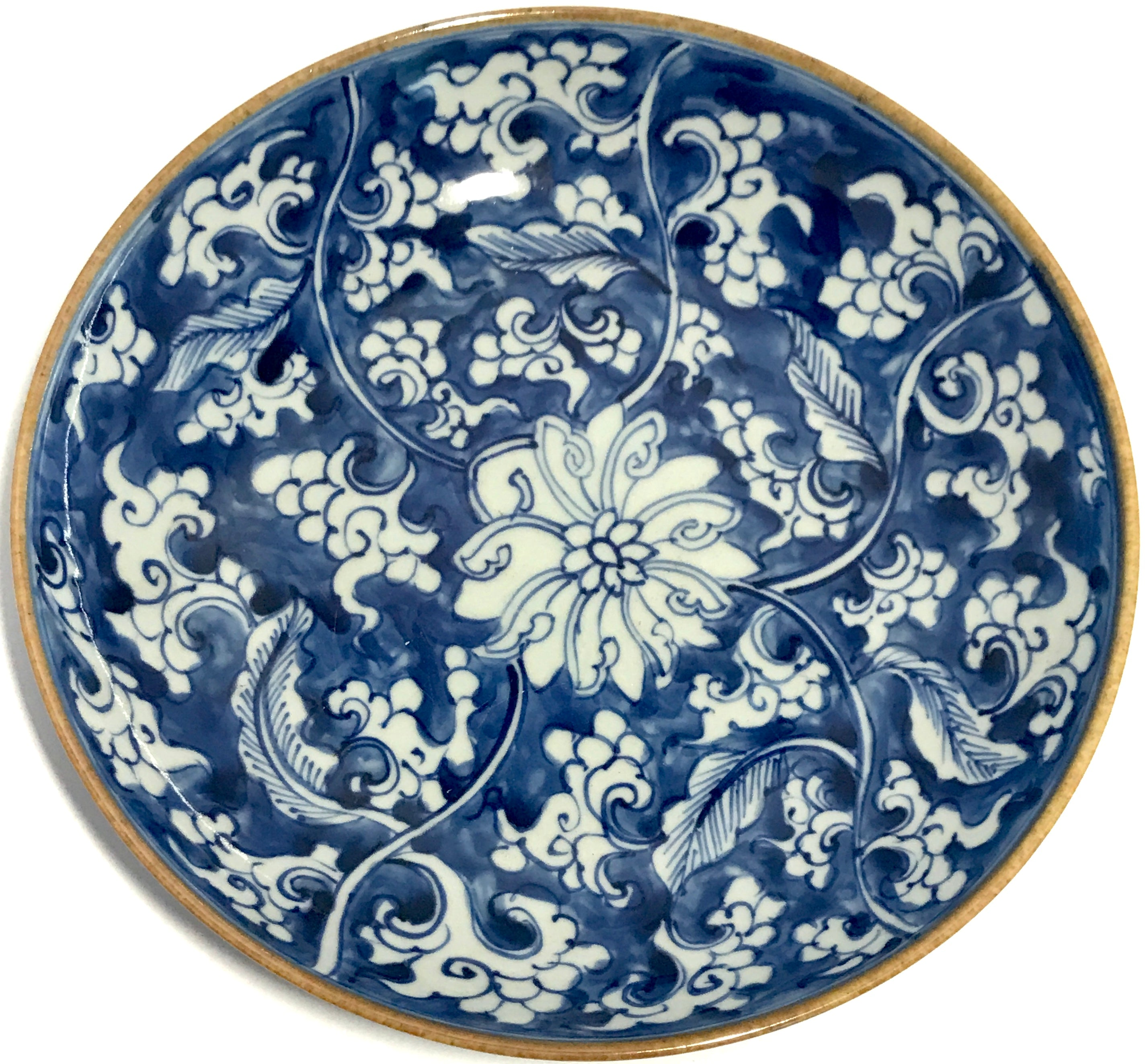 kangxi dish with lotus