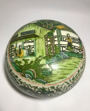 kangxi famille verte container