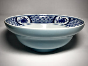 qing dynasty blue and white bowl with kangxi mark