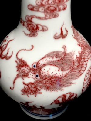 qianlong vase with phoenix