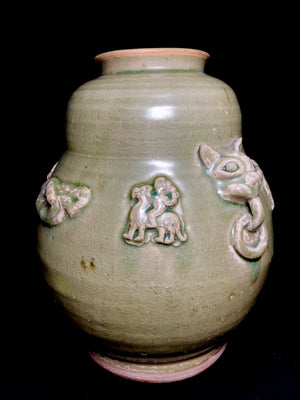 Song Dynasty Celadon Jar