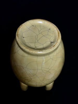 Song Dynasty Geware Funnel/Spout Vase - 10 Dynasties