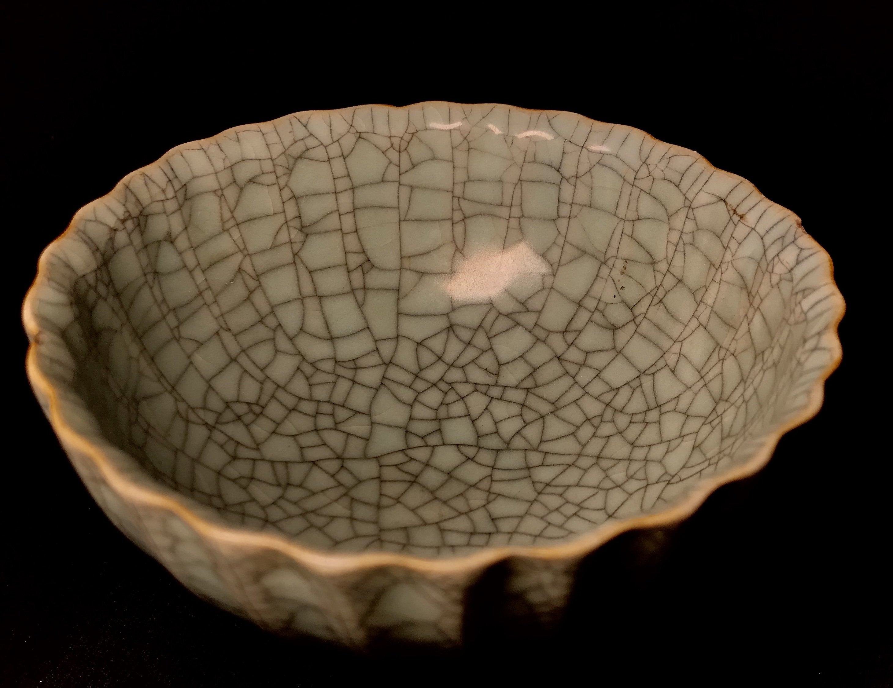 Song Dynasty Geyao Ware Bowl - 10 Dynasties