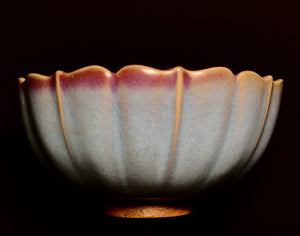Jun Yao bowl with foliate rim