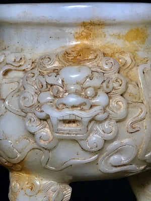 Tang Dynasty White Jade - 10 Dynasties