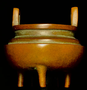 ming dynasty bronze censer with xuande mark