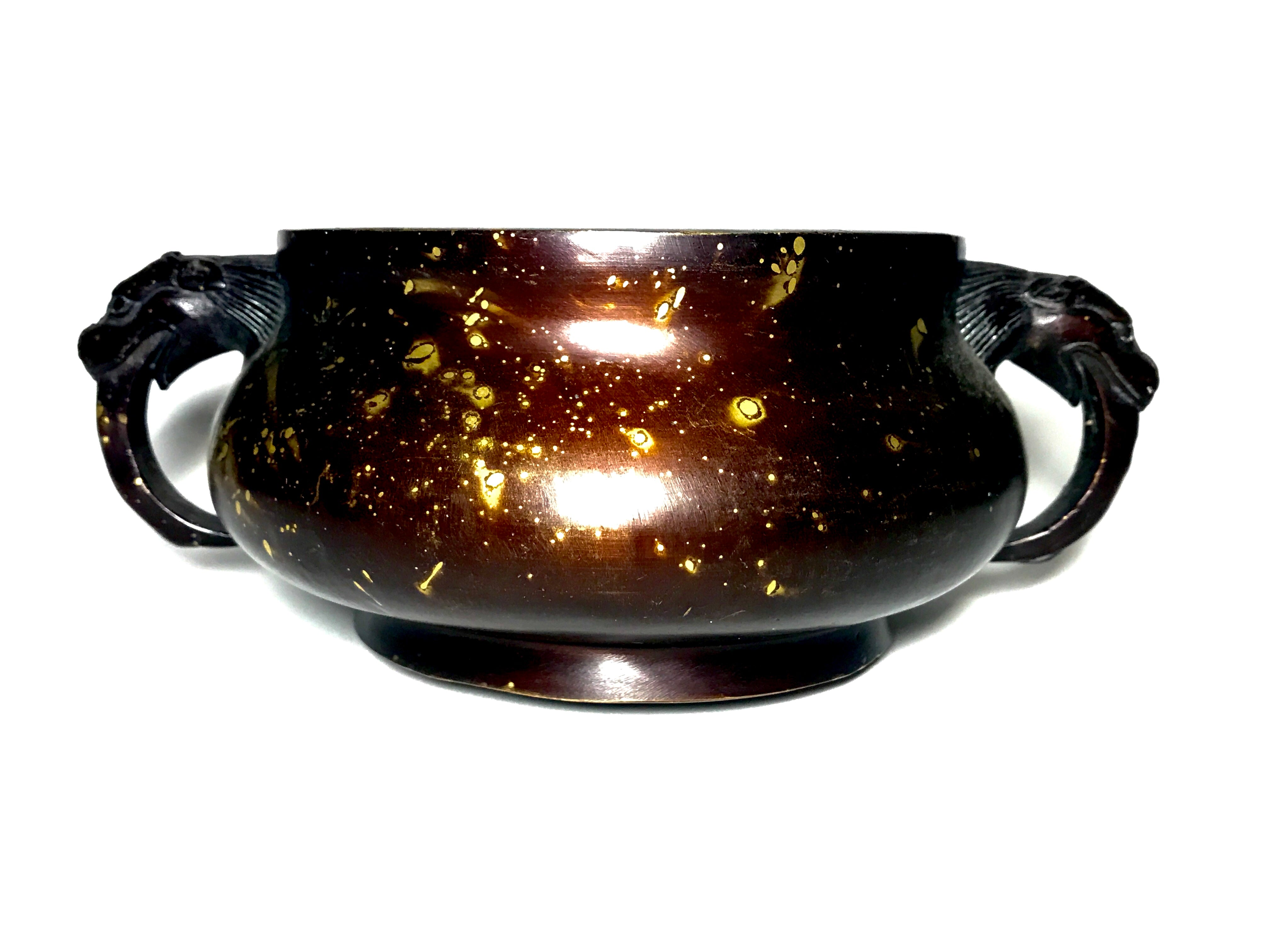Ming gold splash censer