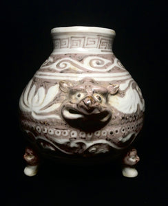 xuande copper red censer