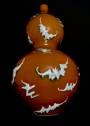 yongzheng vase with brown glaze