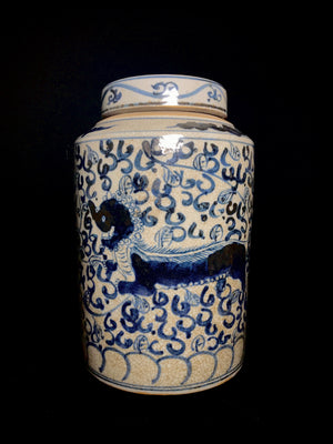 Yuan Dynasty tea jar