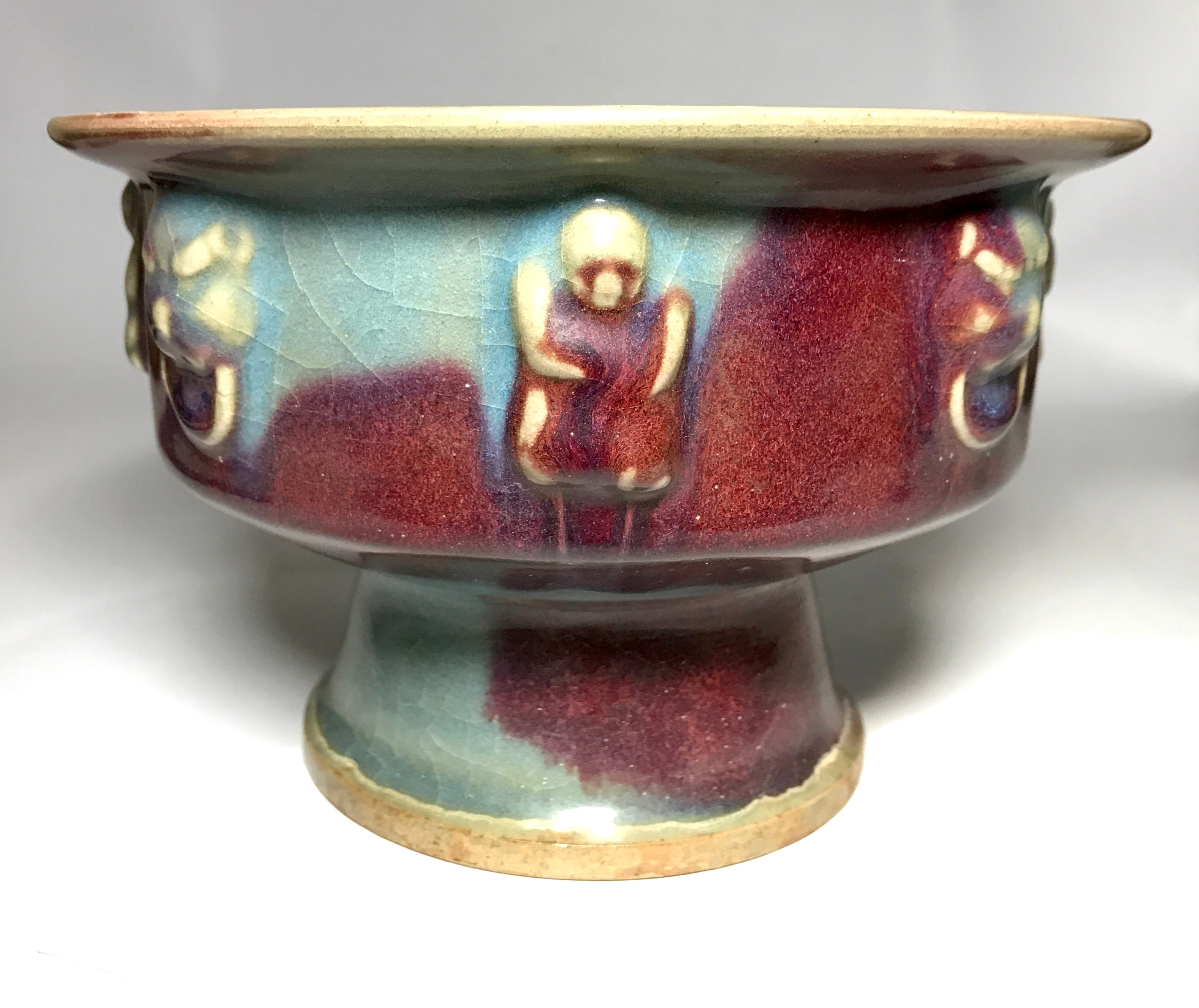 song dynasty jin ware stem bowl