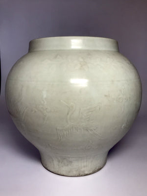 Yuan Dynasty Jar with Shufu glaze