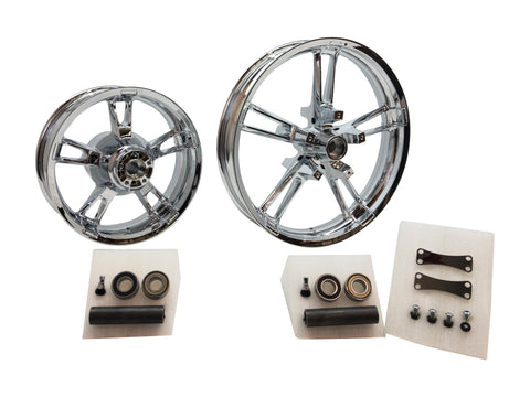 Reinforcer 21 inch chrome wheel set
