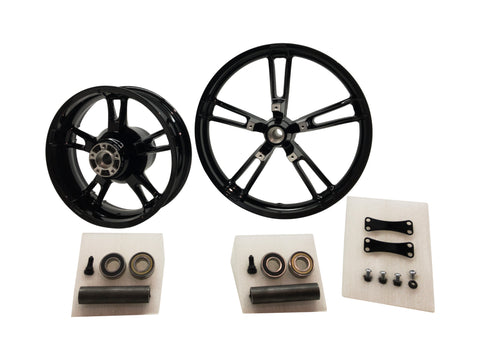 Reinforcer 21 inch black wheel set harley Street glide
