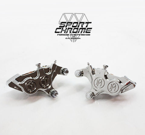 Chrome Brake Calipers from Sport Chrome by Performance Machine