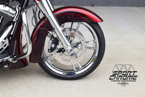 Road Glide Chrome Wheels 2014 2015 2016 2017 2018