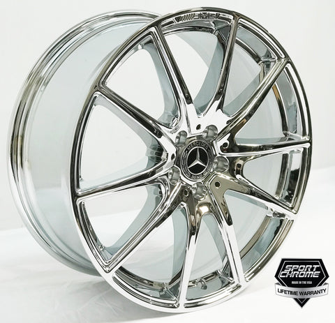 s450 s560 s63 s65 s550 chrome wheels factory oem original
