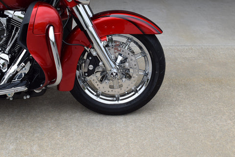 Impeller Chrome Front wheel fro Harley Ultra and Road King 2014 and later