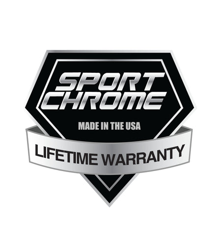 Lifetime Warranty Chrome Motorcycle Wheels