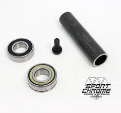 ABS Wheel Installation kit with Black Valve Stem