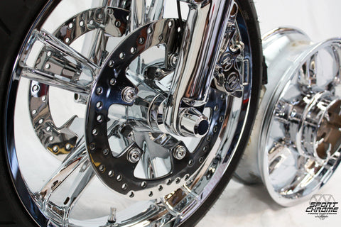 Enforcer Chrome Wheel Accessories