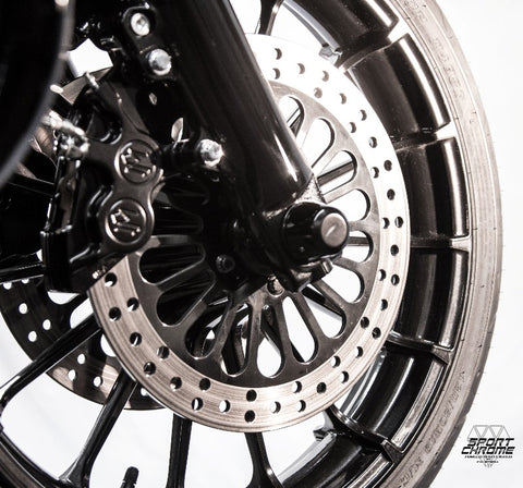 Black Calipers for 2000-2007 Harley Touring Models