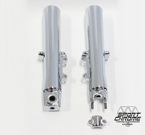 Harley Trike Chrome Front Fork Exchange for Tri-Glide and Freewheeler