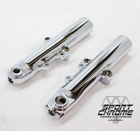 chrome harley forks exchange 4500171, 45500167, 45800037 or 45800034.