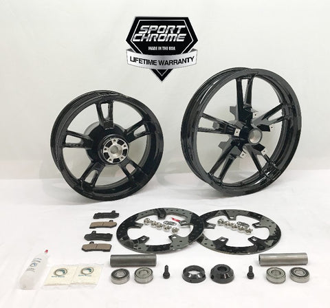 Enforcer Black Wheel Set Package
