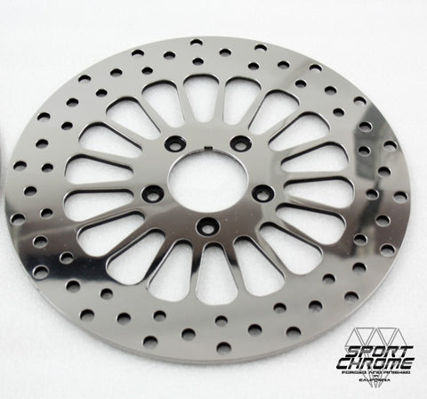 08-18 Polished Rear Disc