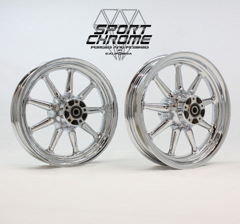 electra chrome wheels