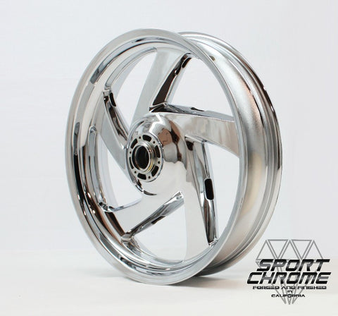 Honda GL1800 Goldwing Chrome Wheels