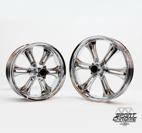 Victory Cross Country Chrome Wheel Set