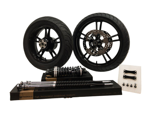 Reinforcer Black Ultimate Wheel & Suspension Kit Package