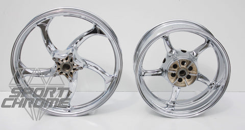 Yamaha Raider XV1900 Chrome Wheels