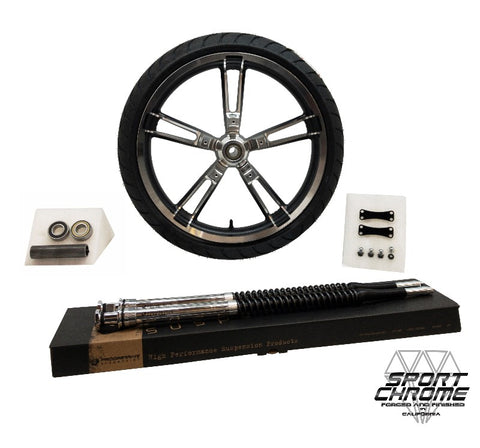 Reinforcer Black Machined Smooth Ride Kit